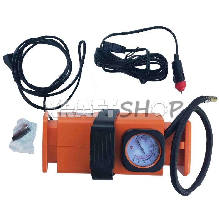 Компресор за гуми 7 Bar 12V и 220V електрически комплресор за въздух