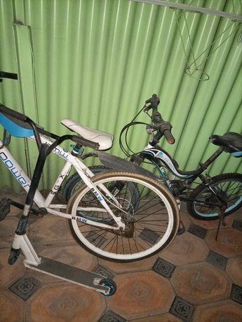 Продам велосипеды,самокат трюковый
