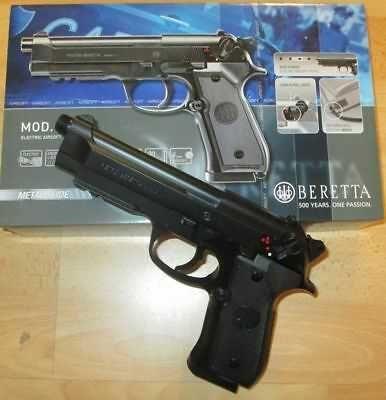 Pistol Airsoft PUTERE 4,4jouli Beretta M9/Taurus PT92 Co2/Cal 6.08mm