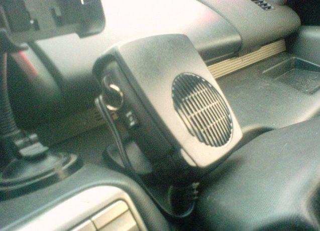 Керамический тепловентилятор для обогрева салона автомобиля