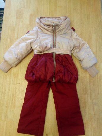 Куртка со штанами,86см