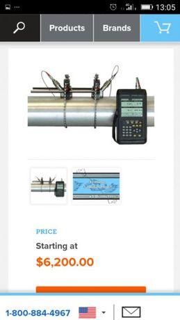 Aparat portabil pentru măsurarea debitului / Debitmetru pentru flux