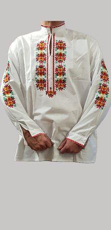 Мъжка Риза с Българска Бродерия