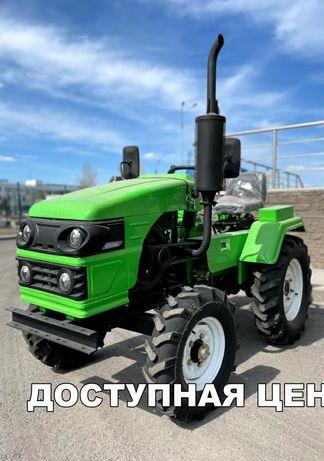 Трактор Рустрак Р-18. Плуг и почвофреза в подарок!