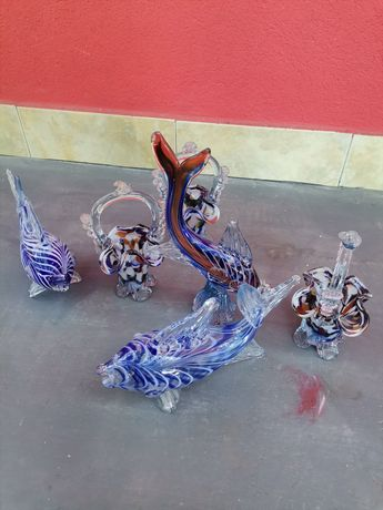 Set bibelouri Sticla murano