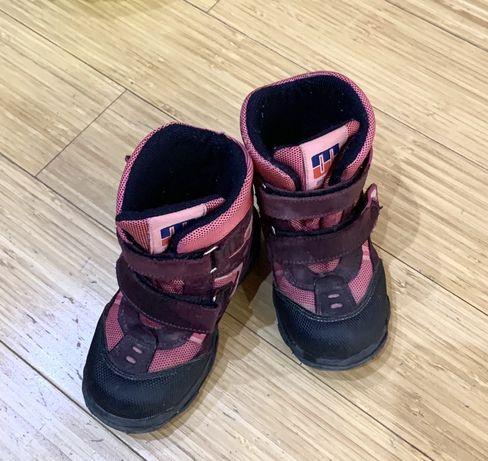 Ботинки сапоги зимние minimen для девочк