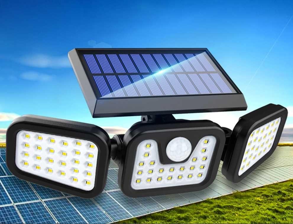 Тристранна сплит соларна осветителна система 112 LED Диода