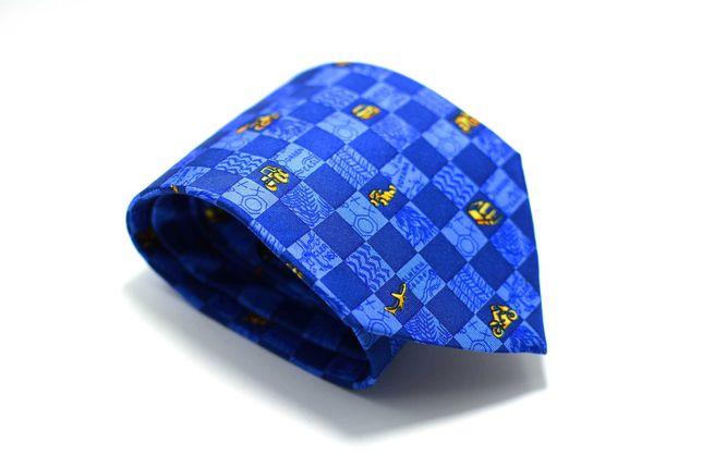 Cravata Andre Claude Canova 9 x 141 Michelin Albastra CRR6
