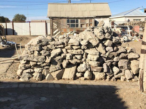 Бетонные отходы (құрылысқа керекті бетон қалдықтары)
