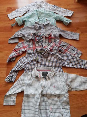 Лот дрехи за момче 6-9м. Яке ,ризи ,дънки ,панталони Zara ,и др