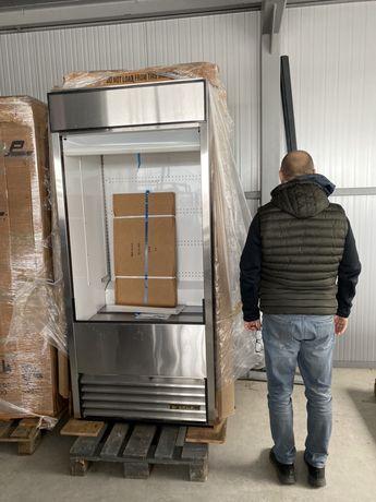 Американска чисто нова верикална хладилна витрина