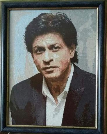 Гоблен с индийския актьор Шарук Кхан