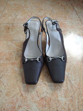 Дамски обувки от естествена кожа, нови