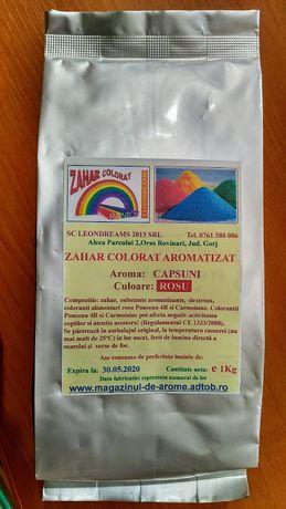 Zahar colorat aromatizat.