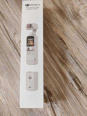 Camera video DJI Pocket 2 Exclusive Combo - Sunset White
