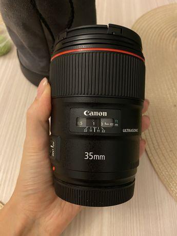 Объектив Canon ef 35mm f/1.4L ii