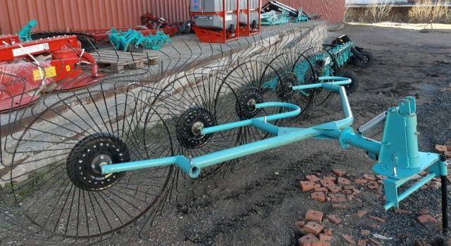 Грабли ворошилки 5-ти колесные 3,3 м.