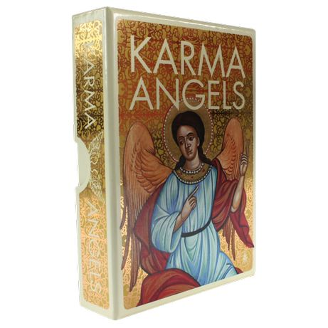 Oracolul de Aur Ingerii Karmei-carti oracol/tarot SUPERBEed lim(AURII)