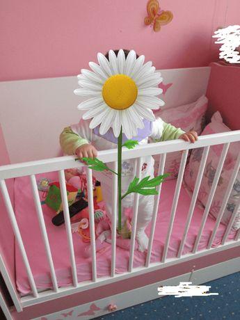 Детска кошара, ставаща на легло и бюро