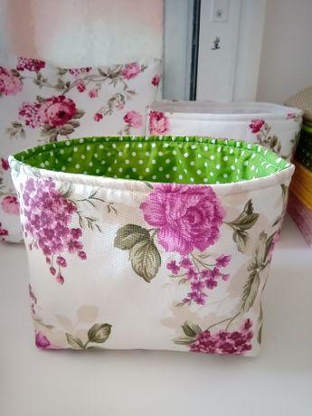 Текстилен кош за декорация