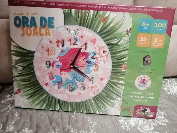 Puzzle cu ceas Noriel