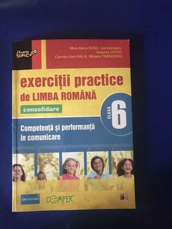 Culegere exercitii practice de limba romana pentru clasa a 6 a