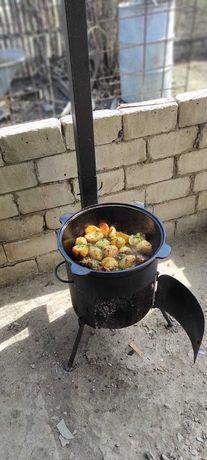 Казан с печью на 16 литров в Актобе