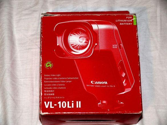 Осветителна лампа за камера Канон+батерия
