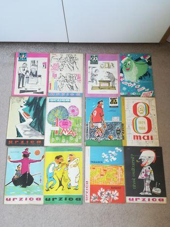 Revista Urzica mai multe numere între anii '60-'89 stare buna