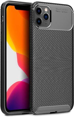 Силиконов гръб Business Carbon за iPhone 12 Pro Max, iPhone 12