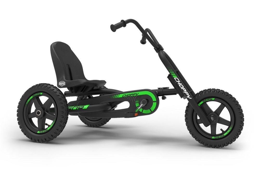 Kart cu pedale pentru copii BERG Choppy Neo.Copii 3 a 8 ani tricicleta Domnesti - imagine 1