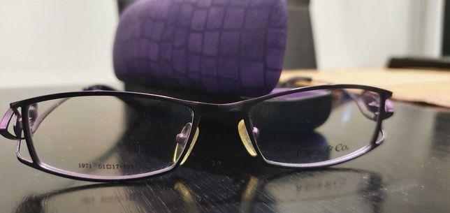 Rame de ochelari de dama mov/gri
