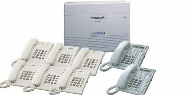 Мини АТС, коммутатор и wifi настройка,  радиомост, роутер, микротик