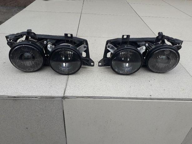 Переделка фар BMW E34 (BMW E32) под Hella Black