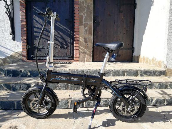 Сгъваем велосипед електрически