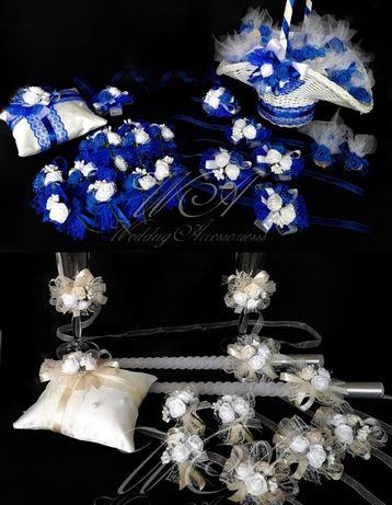 Сватбени комплекти-кутии за пари,бутониери за сватба, кутийки за халки