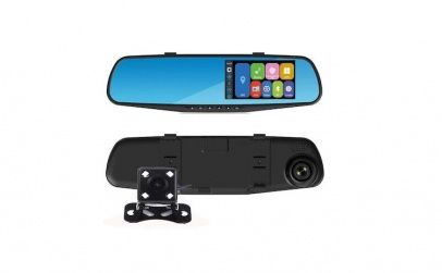 Camera DVR tip Oglinda retrovizoare, Blackbox, FullHD, G Sensor