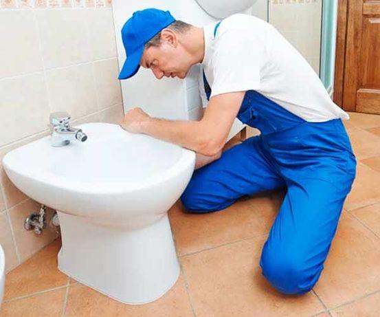 Прочистка канализации, чистка унитаза, Установка отопления. Пайка труб