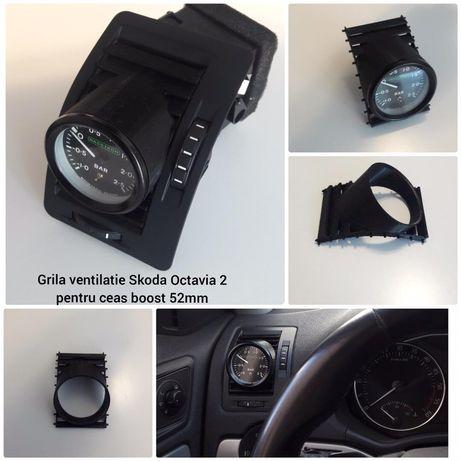 Grila ceas boost / turbo 52mm Skoda Octavia 2