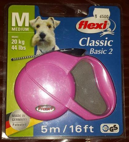 Lesa Flexi Classic Basic 2 mediu snur 20 kg
