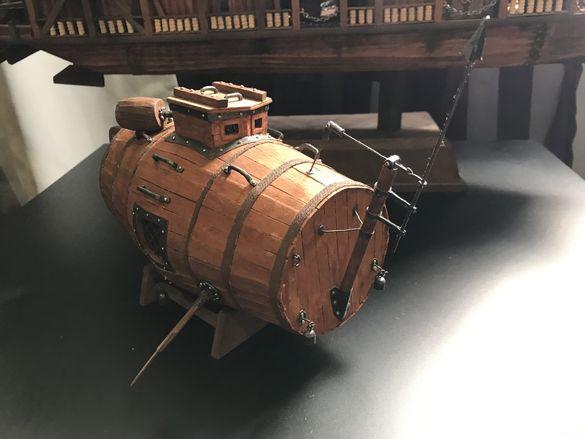 Модел на първата руска подводница