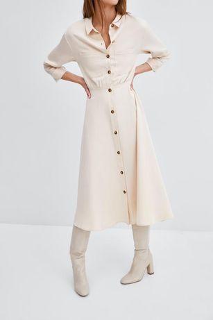 Платье ZARA длина миди