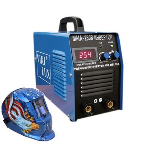 Електрожен Viki Lux 250 R blue инверторен дигитален дисплей