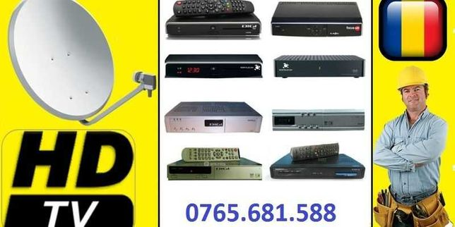 Antene Satelit, Service & Instalari Antena Satelit Bucuresti