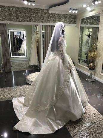 Продам свадебное платье за 90 000 тенге (прокат 60 000тг)