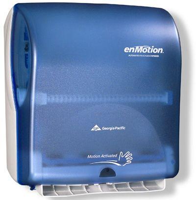 Дозатор за хартиени кърпи за ръце на ролка enmotion