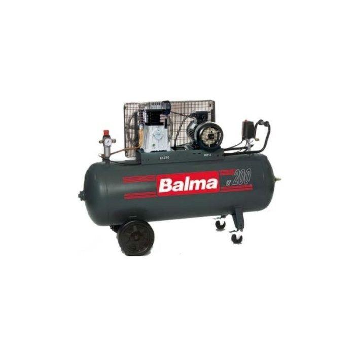Compresor aer cu piston 200L, trifazic, 3kW,10 Bar Balma NS19S-200-CT4 Cluj-Napoca - imagine 1