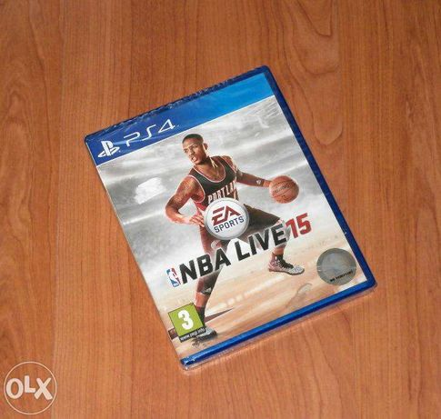 Joc PS4 - NBA LIVE 15 , nou , sigilat