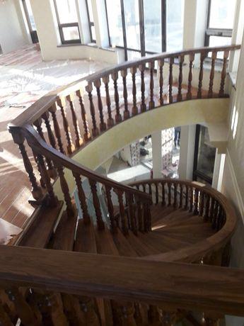 Изделия из дерева (лестницы, двери, кровати, столы, стулья)