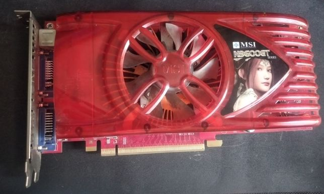 Продам Видеокарту MSI N9600GT